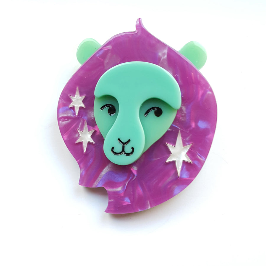 Leo the Leader Brooch Erstwilder