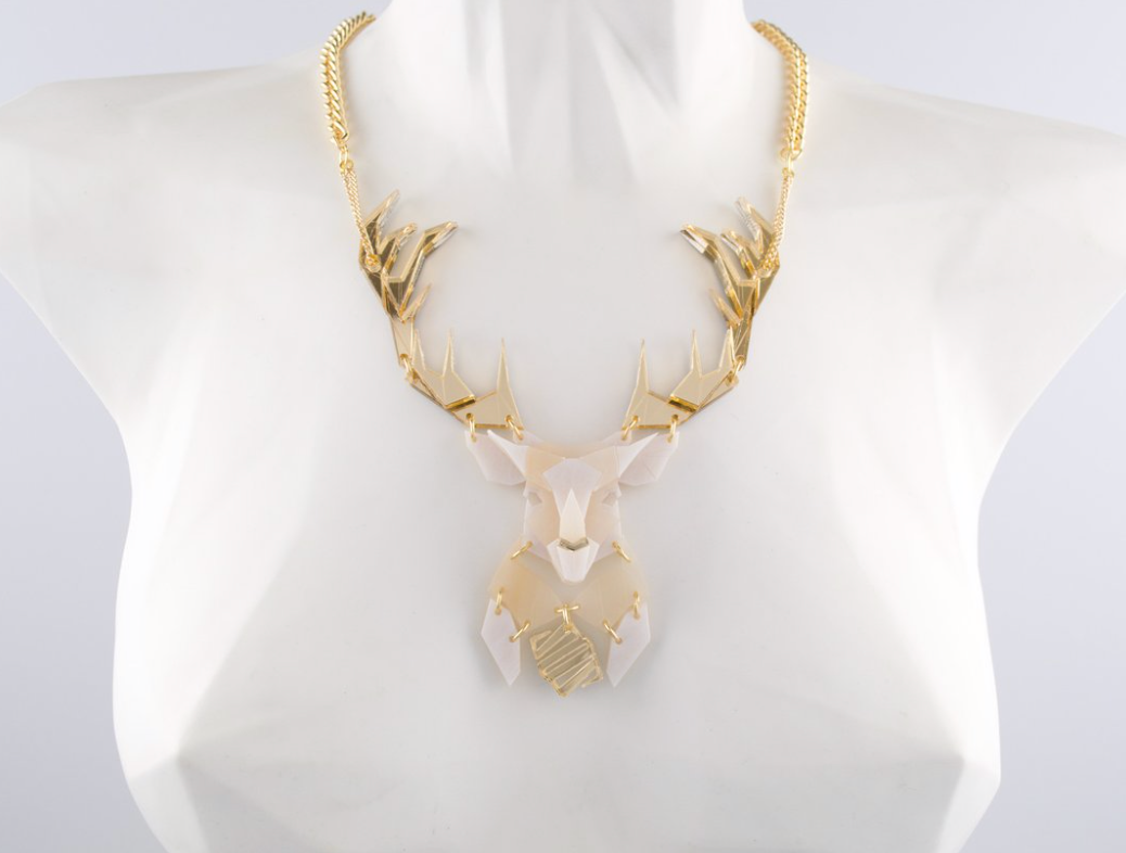 COMING SOON Emperor Stag Necklace (Luxor)  by Sstutter
