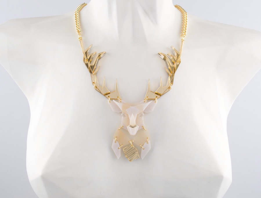 Emperor Stag Necklace (Luxor)  by Sstutter