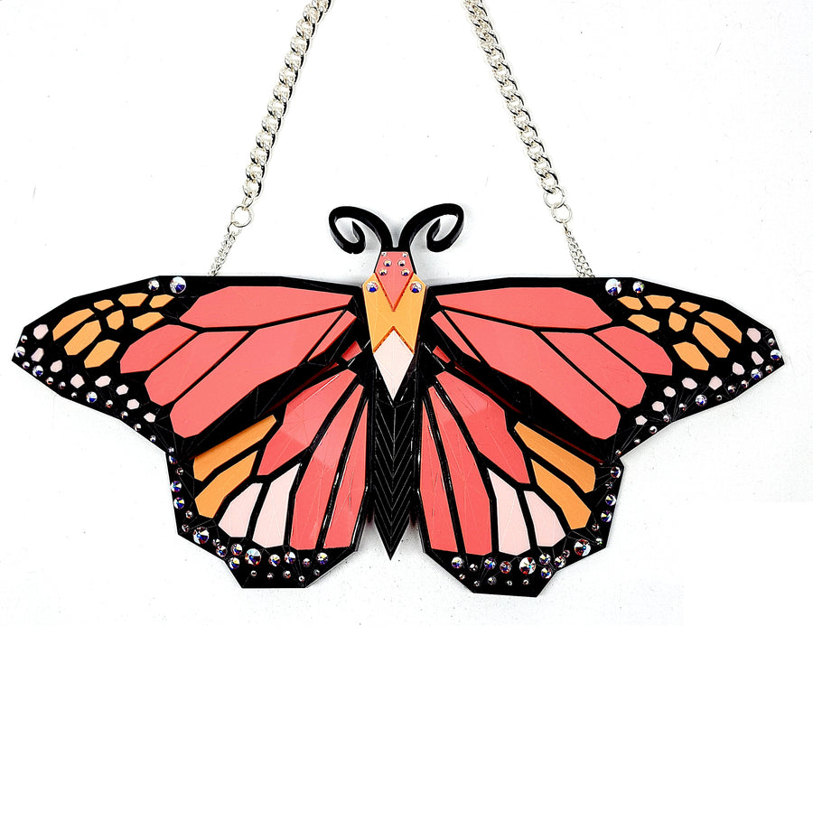 Monarch Butterfly Necklace (Sensation) by Sstutter