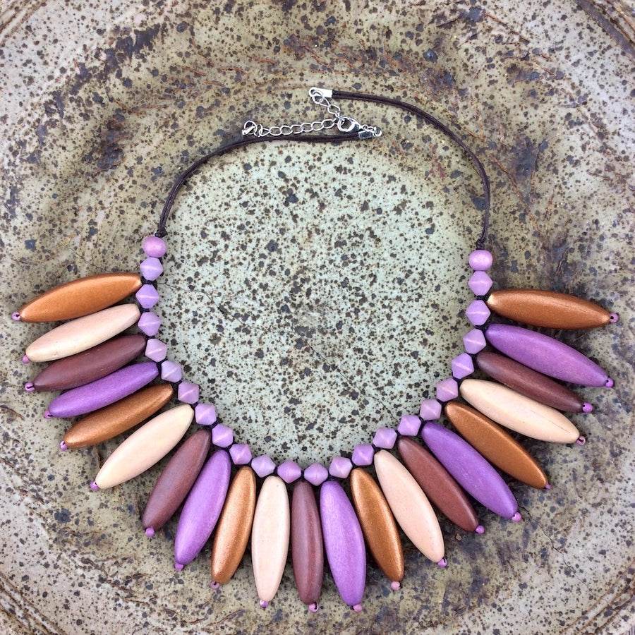 Lavender Deluxe  Necklace by Cool Coconut