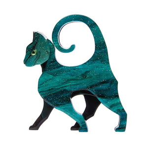 On the Prowl Cat Brooch  (April 2020) by Erstwilder