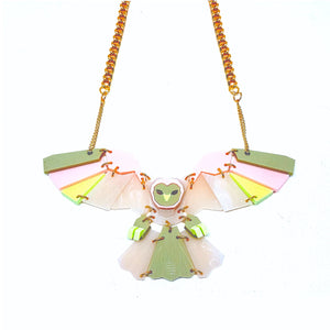 Owl Necklace (Detox) by Sstutter