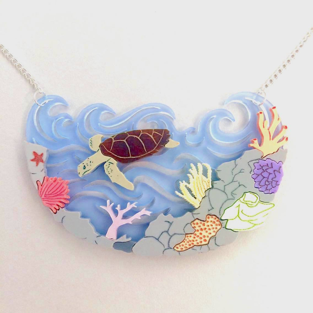 Reef Necklace by KimChi and Coconut