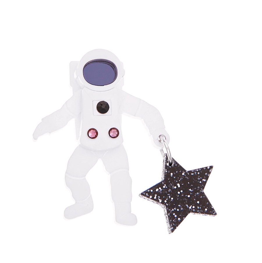 Astronaut Brooch by Little Moose