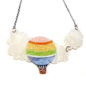 Up in the Clouds Necklace by Erstwilder