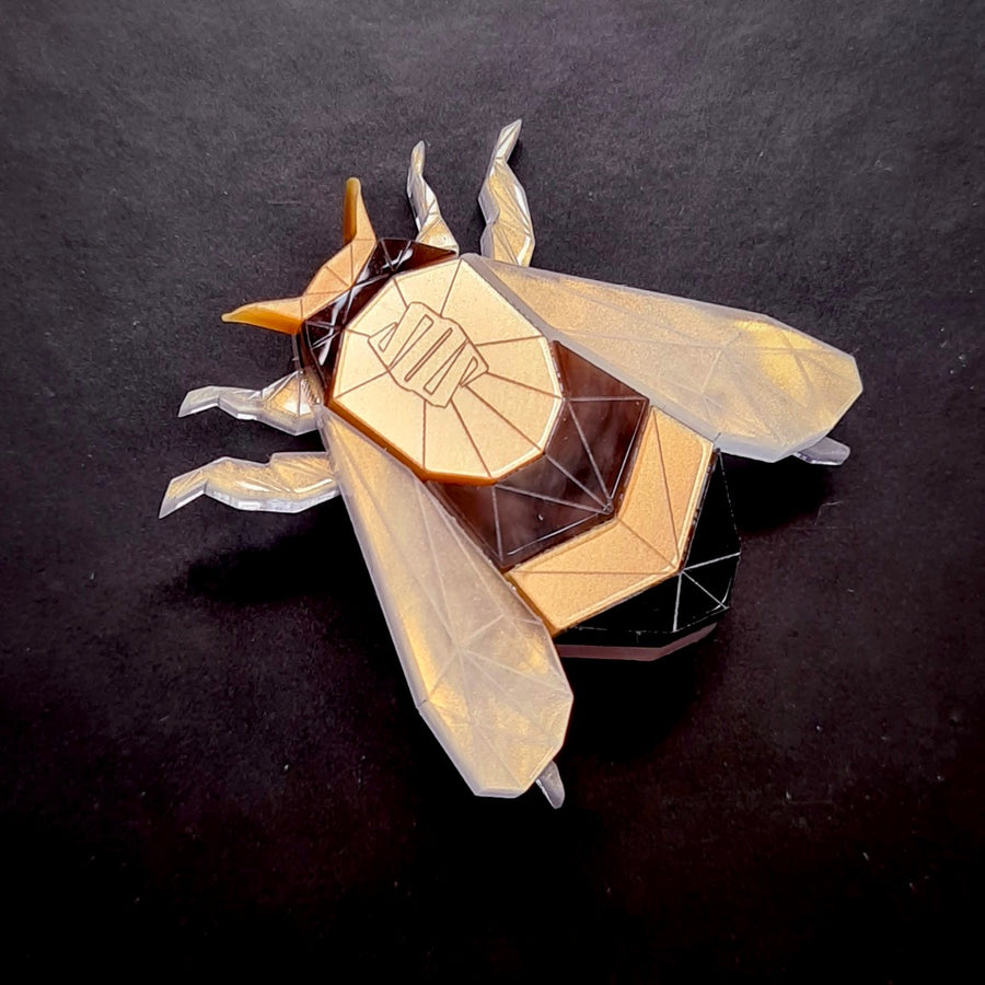 Bumble Bee Brooch (Lost City) by Sstutter