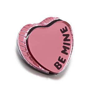 Be Mine Heart Brooch by Monolama