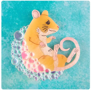 Bubble and Squeak Brooch by Gory Dorky