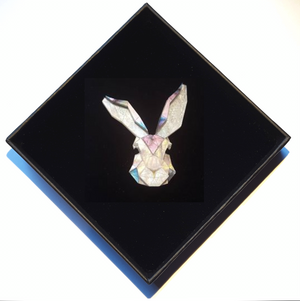 Bunny Brooch (Moon Lakes) by Sstutter