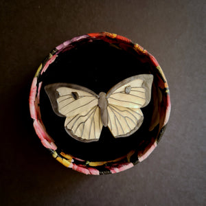 Social Butterfly Brooch by Erstwilder