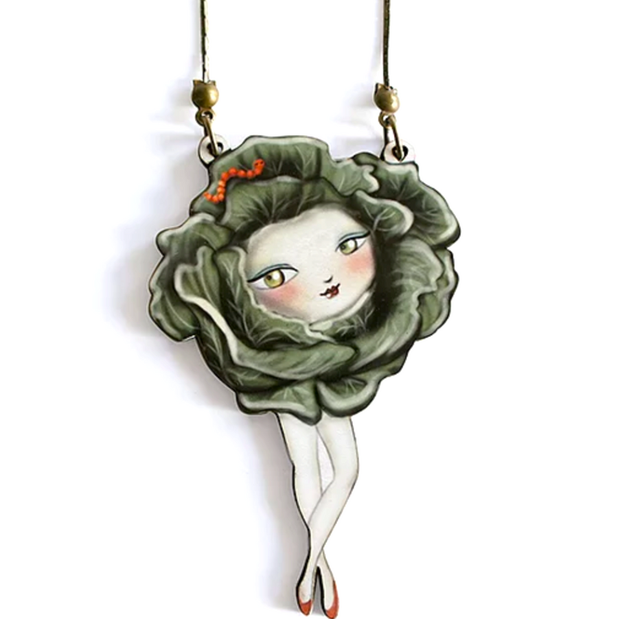 Cauliflower Necklace by LaliBlue