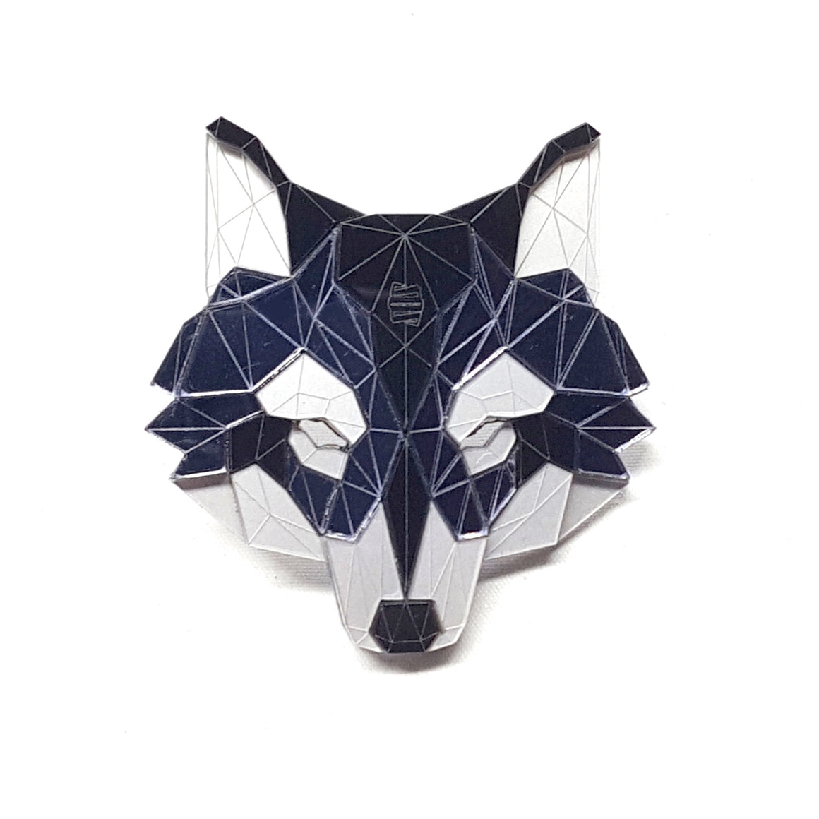 Wolf Head Brooch (Dark Knight) by Sstutter