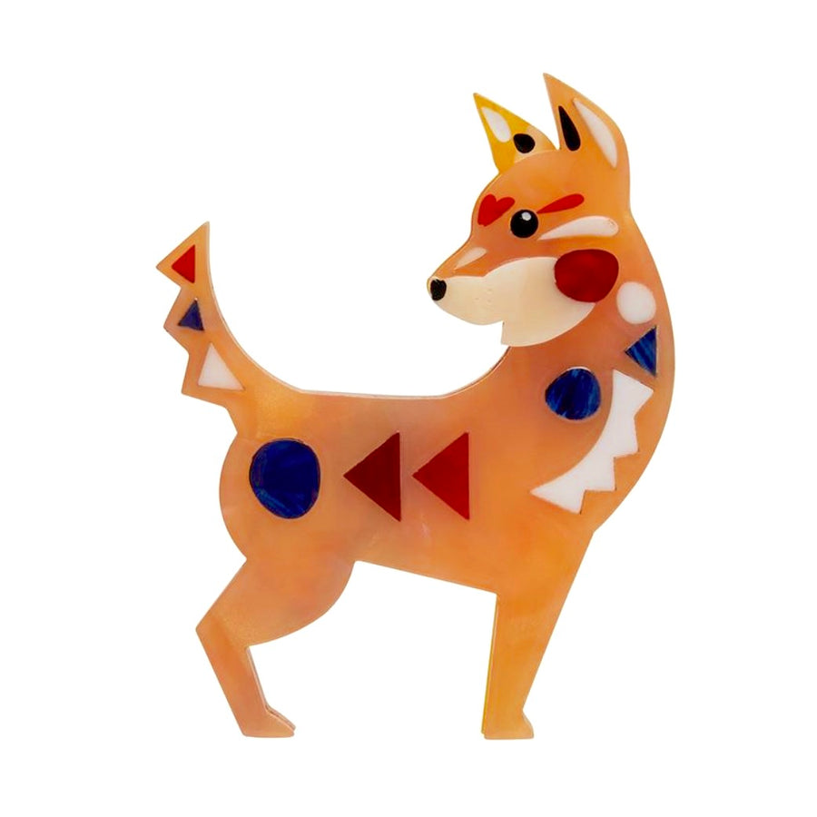 The Dapper Dingo Brooch by Erstwilder x Pete Cromer