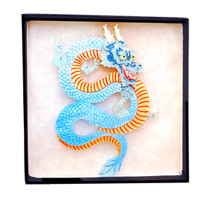 Seiryu, Azure Dragon of the East Brooch by Gory Dorky
