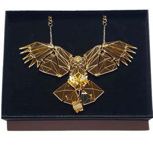 Golden Eagle Necklace by Sstutter