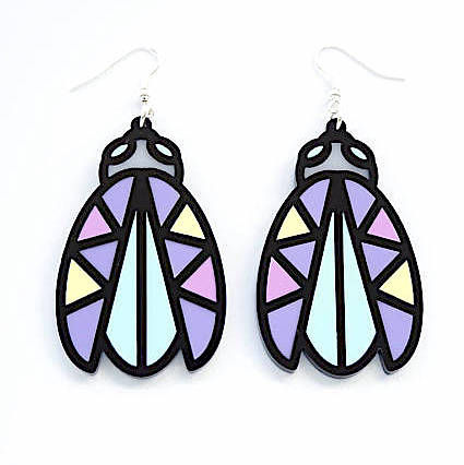Bug Earrings by Designosaur