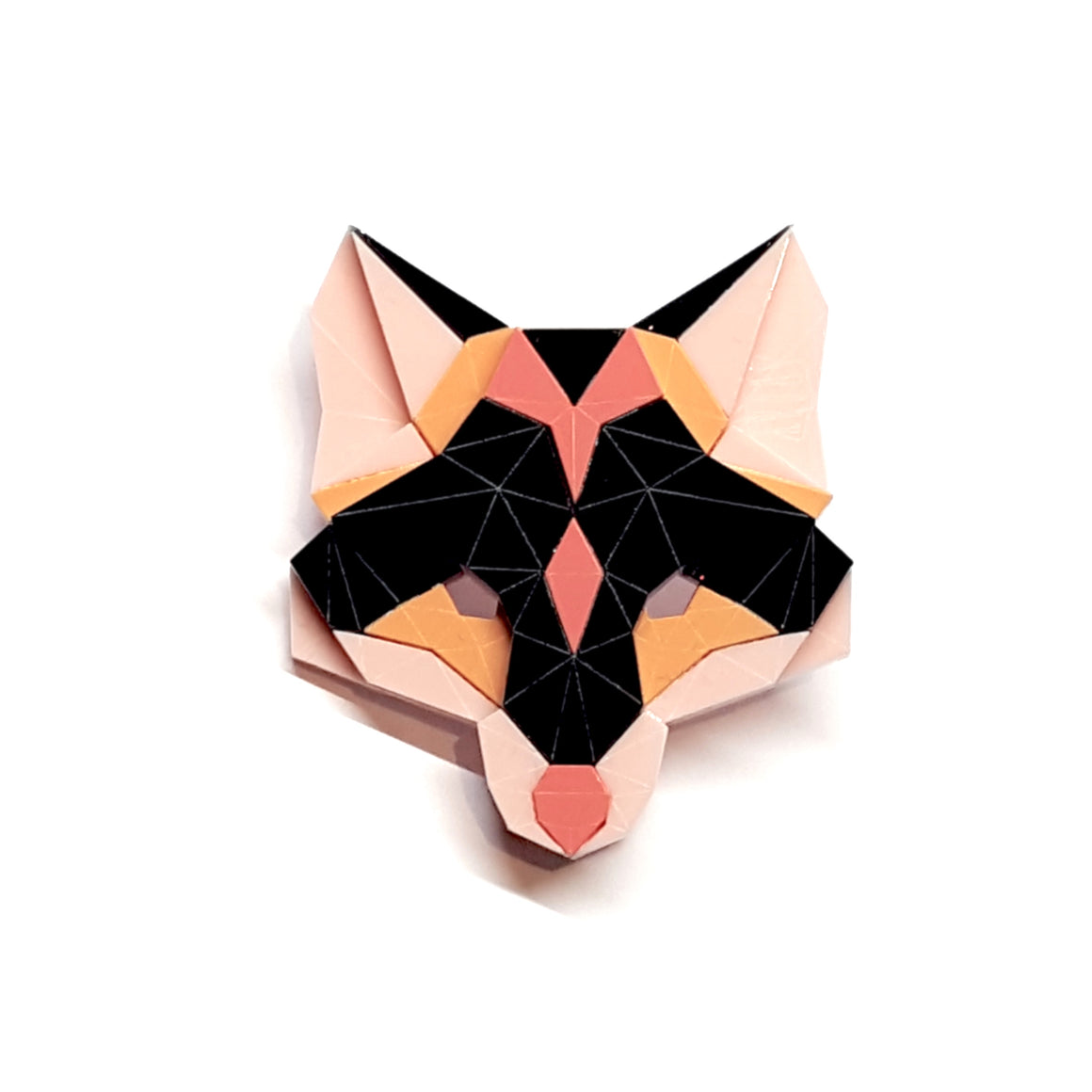 Fox Head Brooch (Sensation) by Sstutter