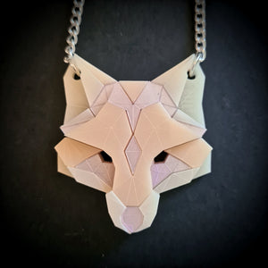 Fox Head Necklace (Baby) by Sstutter
