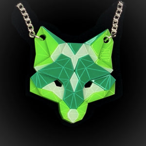 Fox Head Necklace (Fresh) by Sstutter