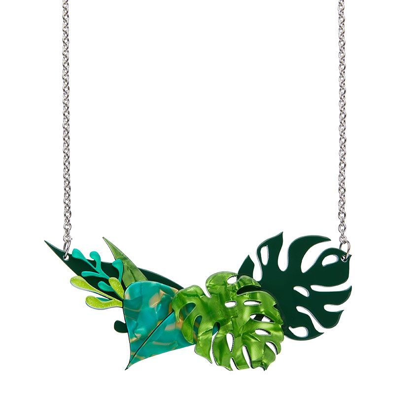 Fronds of Fancy Necklace (Small) by Erstwilder
