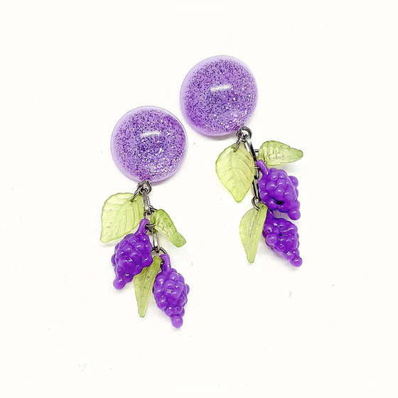 I Heard It Through The Grapevine Earrings by SummerBlue