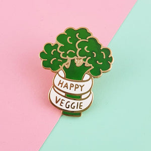 Happy Vegie Pin by Jubly-Umph