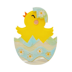 Happy Hatchling Brooch by Erstwilder