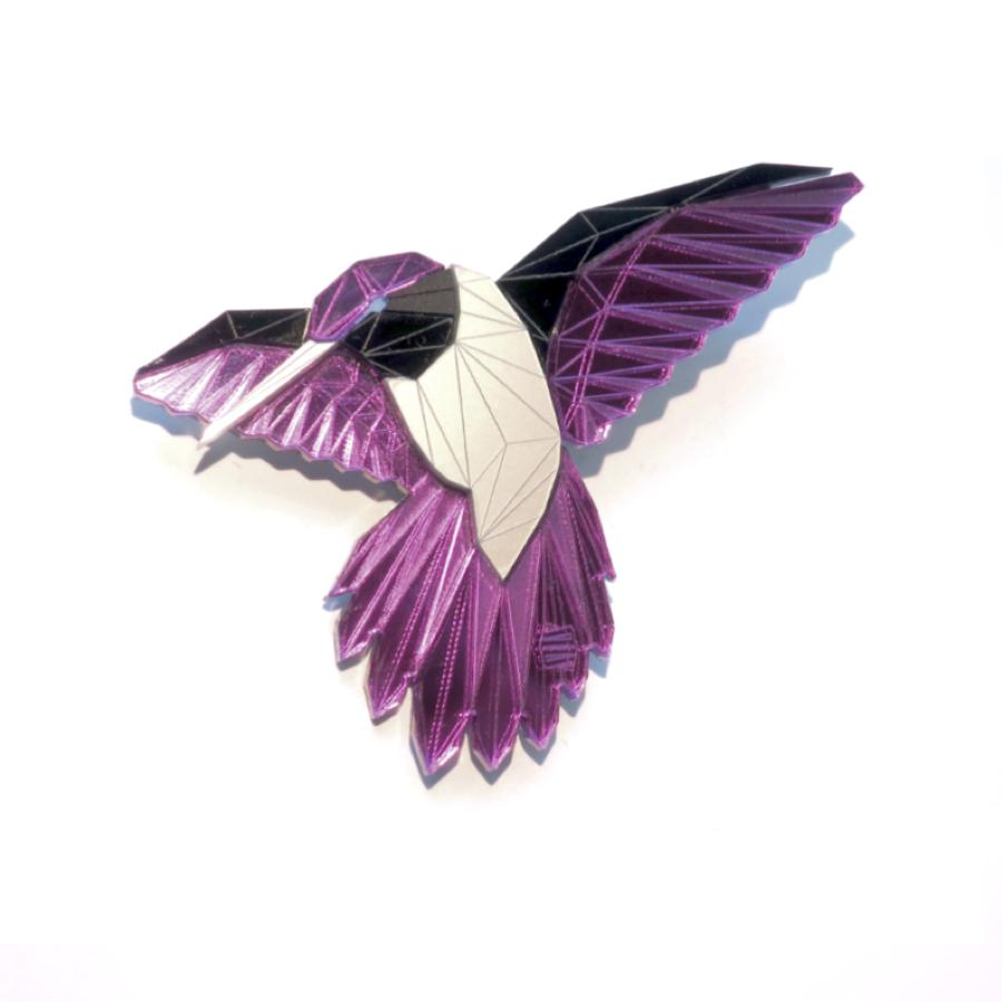 Hummingbird Brooch (Alita) by Sstutter