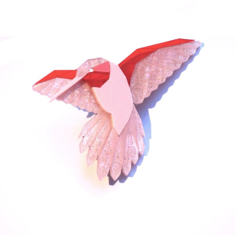 Hummingbird Brooch (True Romance) by Sstutter