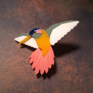 Hummingbird Brooch (Hype) by Sstutter