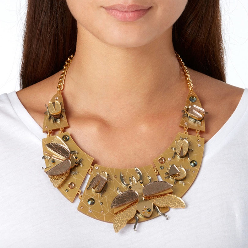 Insect Collar Necklace by Little Moose