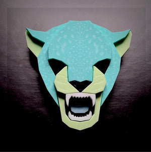 Jaguar Head Brooch (Toxic)by Sstutter
