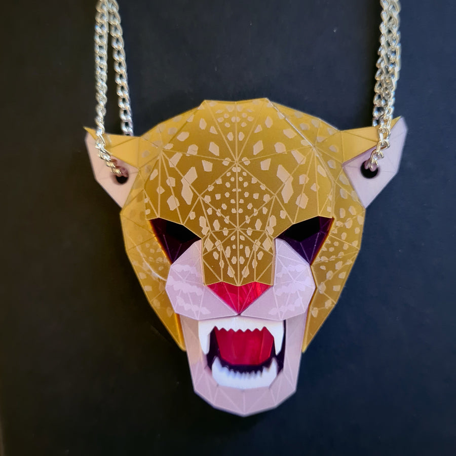 Jaguar Head Necklace (Jewel ) by Sstutter