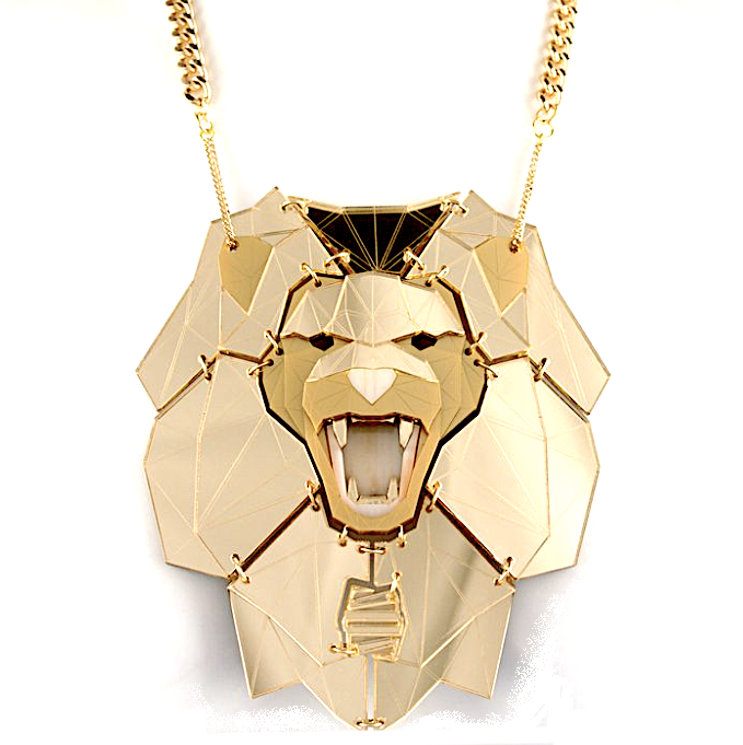 Lion Necklace  Midas (HyperGold)  by Sstutter