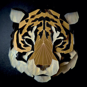 Tiger Head Brooch (Lost City) by Sstutter