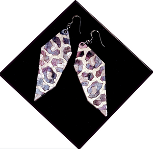 Roar Earrings Moon Lakes by Sstutter