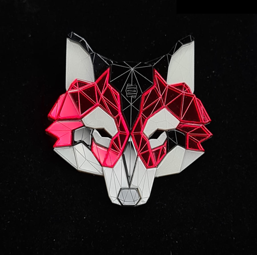 Wolf Head Brooch (Murder) by Sstutter