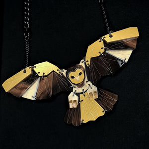 Owl Necklace (Lost City) by Sstutter