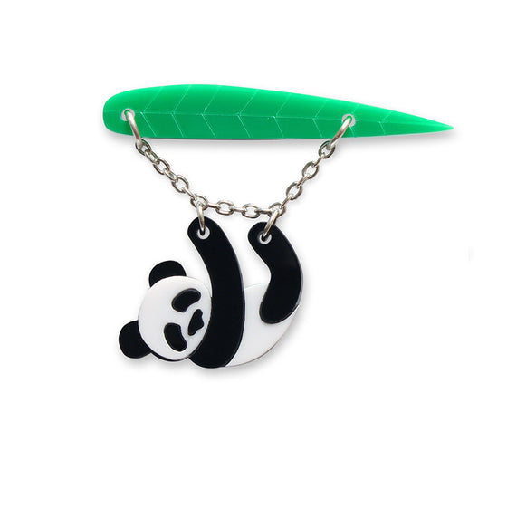 Panda Brooch by Little Moose