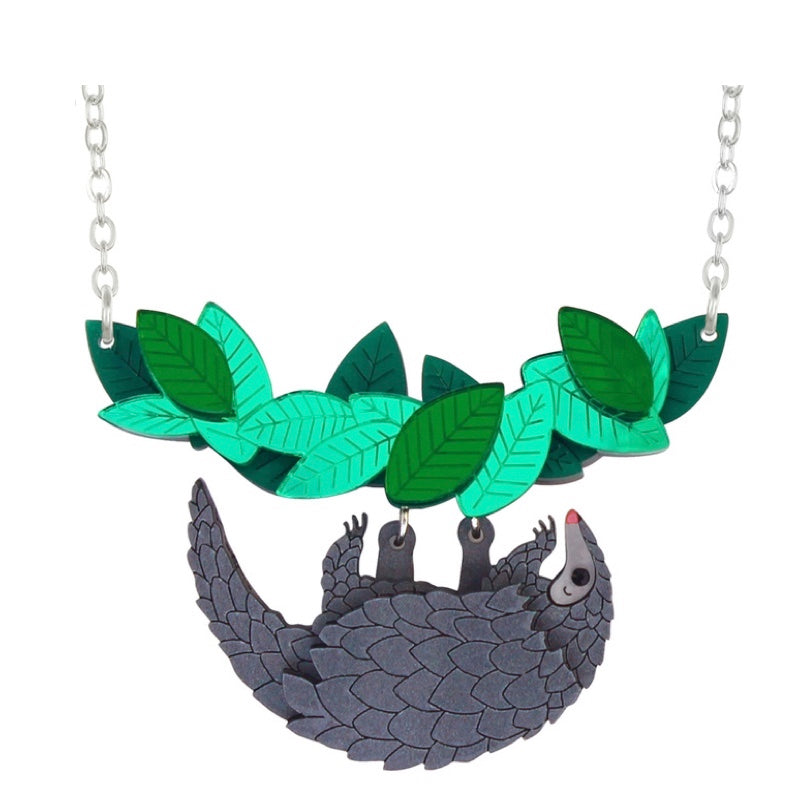 Pangolin Necklace by Little Moose