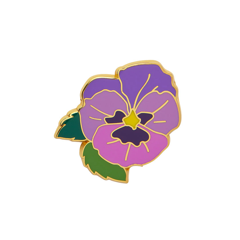 On Sleeping Eyelids Enamel Pin by Erstwilder