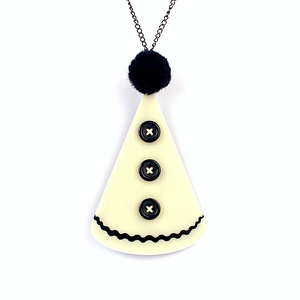 Pierrot Hat Necklace by MissJ