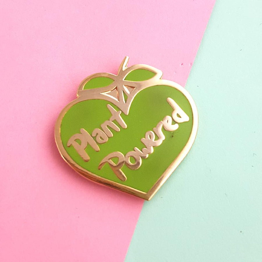 Plant Powered Pin by Jubly-Umph