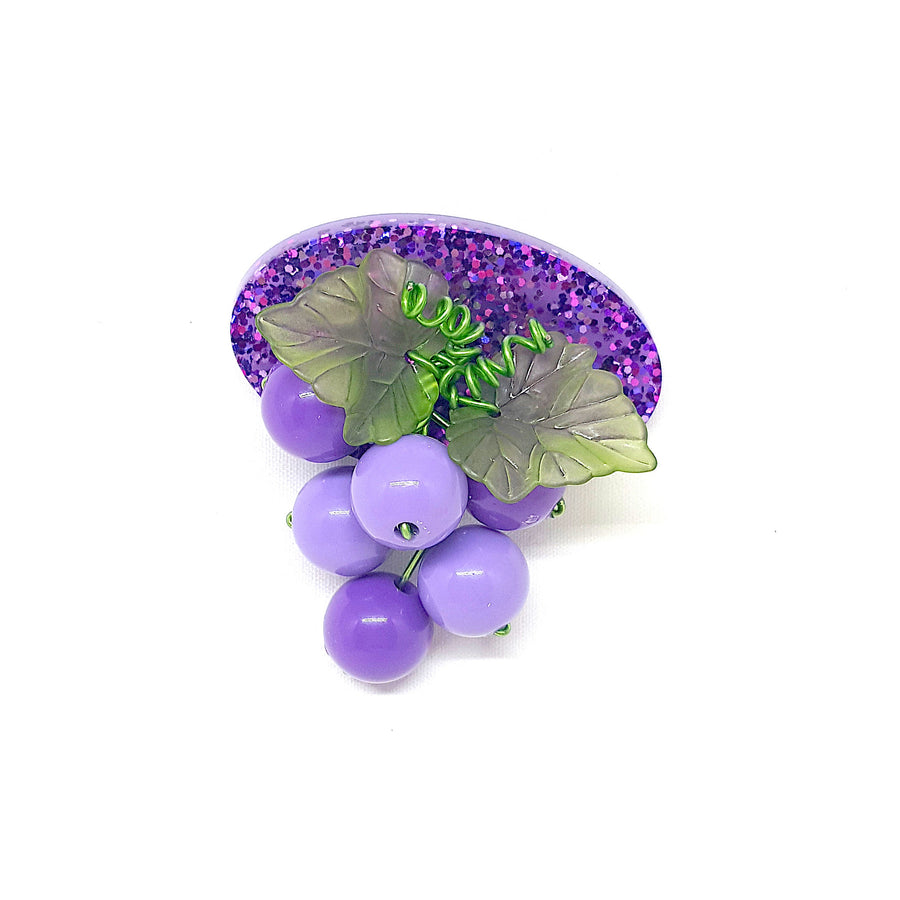 Grapevine Brooch by Summer Blue
