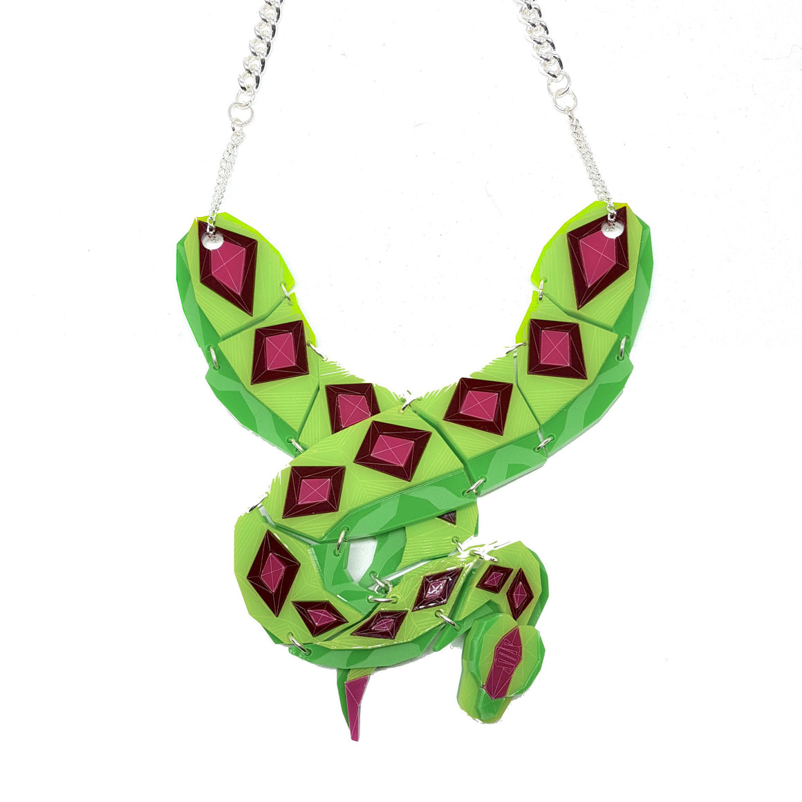 Python (Hot Tropics) Necklace by Sstutter