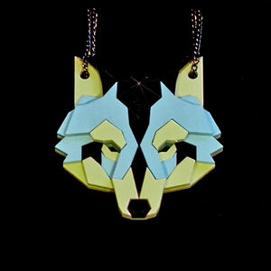 Wolf Head Necklace (Toxic) by Sstutter