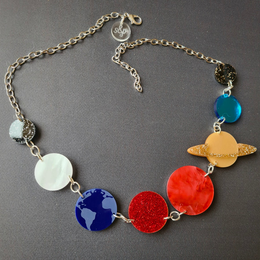 Solar System Necklace (Original) by Sugar and Vice