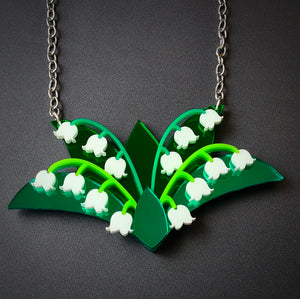 Lily of the Valley Necklace by Sugar and Vice