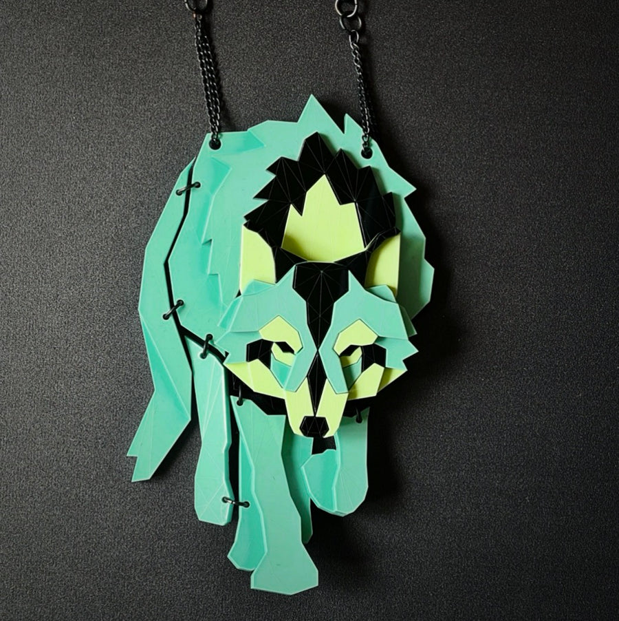 Wolf (Toxic) Necklace by Sstutter